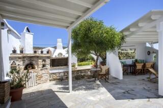 amenities porto holidays tinos apartments bbq area