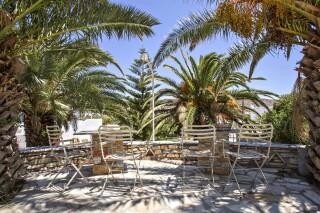 amenities porto holidays tinos apartments garden sitting area