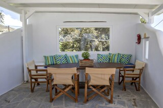 amenities porto holidays tinos apartments sitting area